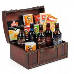 Beer & Snacks Gift Baskets