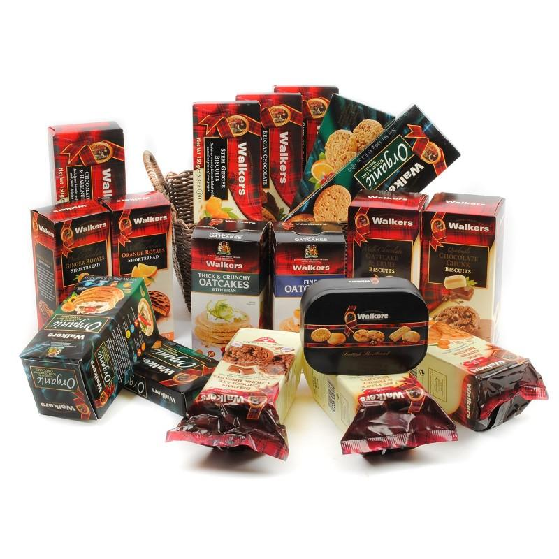 Biscuits & Chocolates Gift Baskets