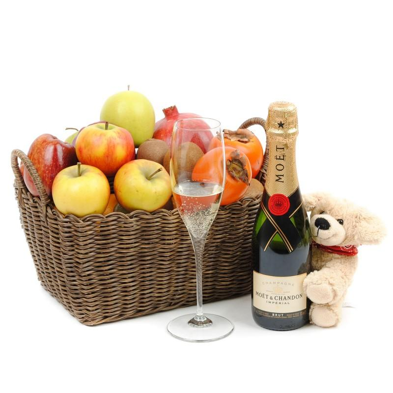 Fruit, Champagne, Wine & Spirits