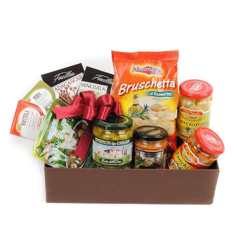 CHOCOLATE & PICKLES GOURMET GIFT BOX
